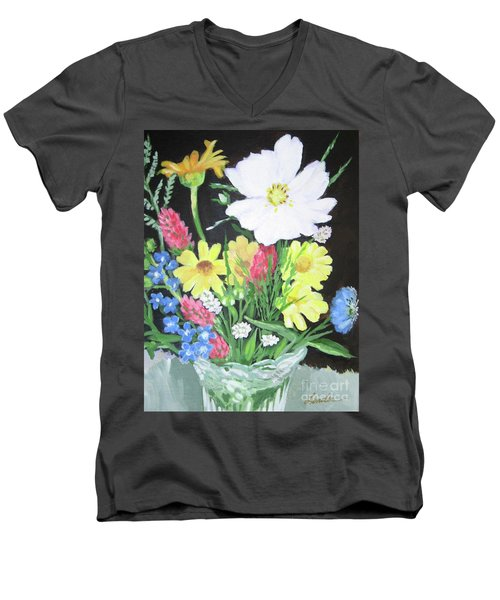 Cosmos And Her Wild Friends Men's V-Neck T-Shirt