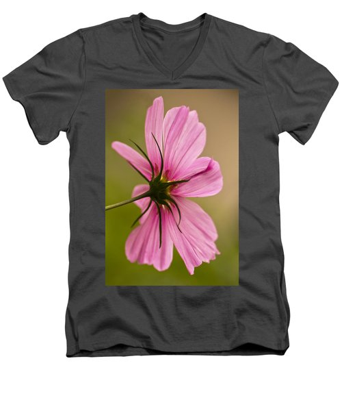 Cosmos In Pink Men's V-Neck T-Shirt