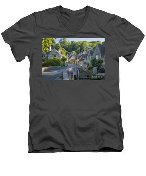 Cotswold Village Men's V-Neck T-Shirt