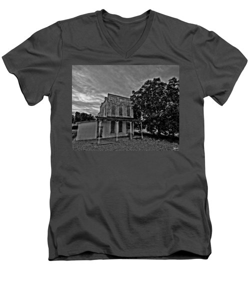 Cotton Office Men's V-Neck T-Shirt