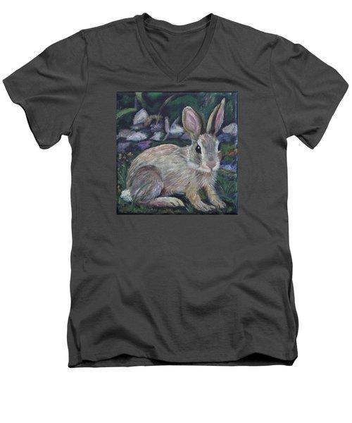 Cottontail Men's V-Neck T-Shirt