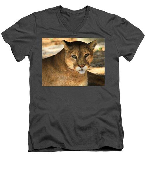 Cougar II Men's V-Neck T-Shirt