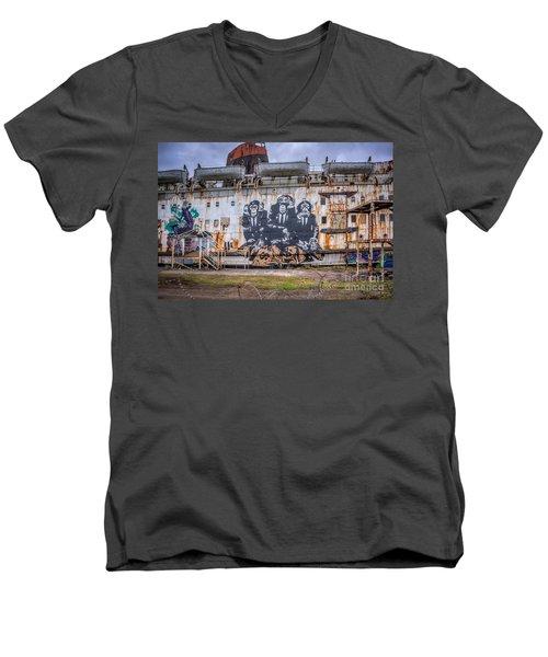Council Of Monkeys Men's V-Neck T-Shirt
