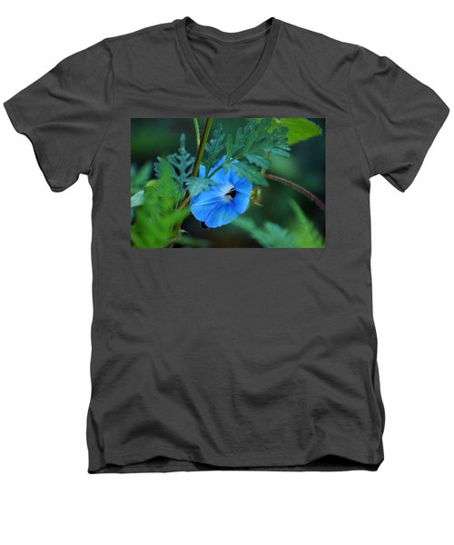 Country Blue Men's V-Neck T-Shirt