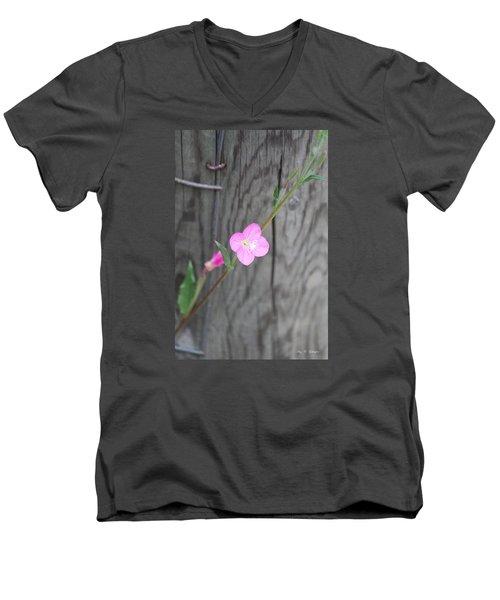 Country Flower  Men's V-Neck T-Shirt