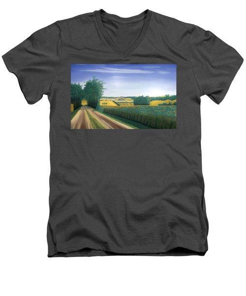 Countryside Men's V-Neck T-Shirt
