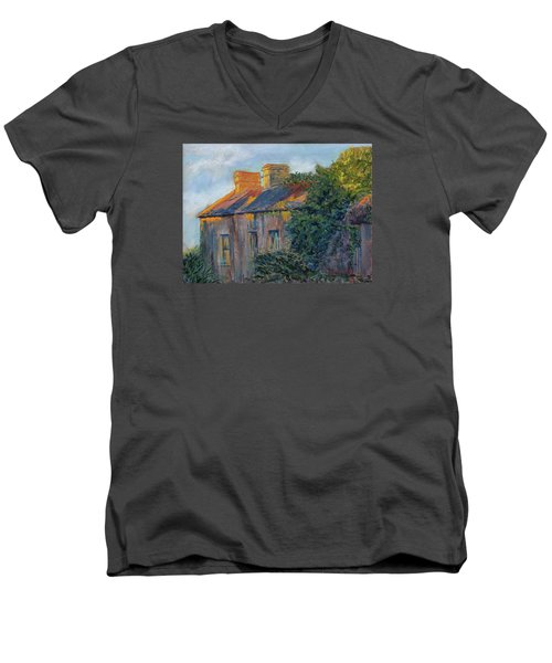 County Clare Late Afternoon Men's V-Neck T-Shirt