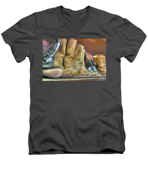 Cowboy Soul Men's V-Neck T-Shirt