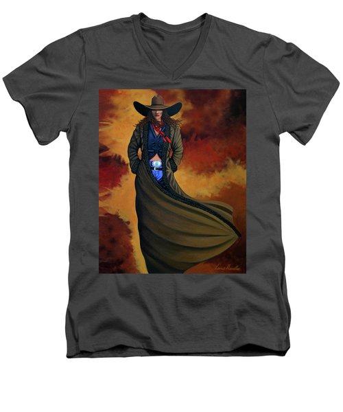 Cowgirl Dust Men's V-Neck T-Shirt