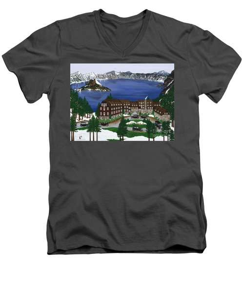 Crater Lake National Park Men's V-Neck T-Shirt