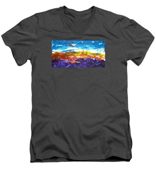 Creation I Men's V-Neck T-Shirt