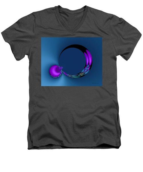 Crescent Moons Men's V-Neck T-Shirt