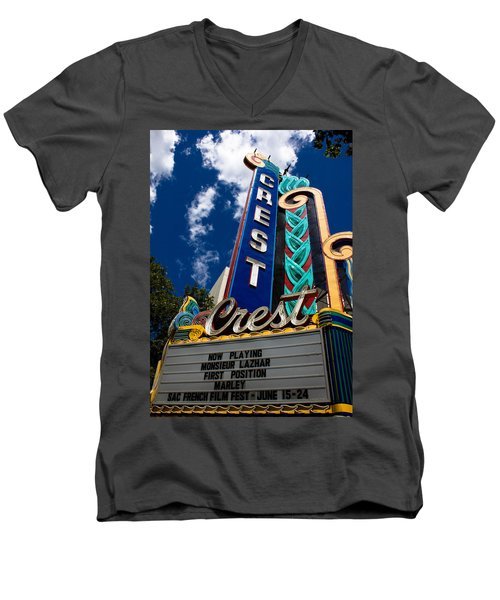 Crest Theater Men's V-Neck T-Shirt