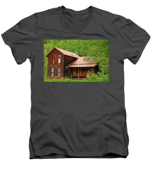 Crystal Cabin Men's V-Neck T-Shirt