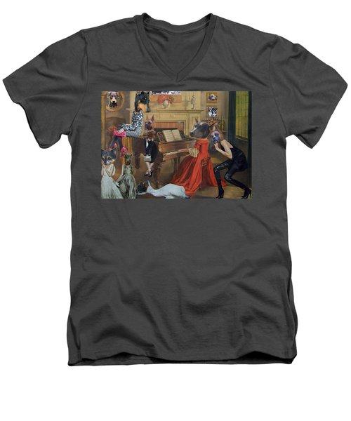 Cscr 16 Men's V-Neck T-Shirt