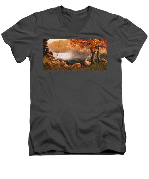 Cumberland Falls Men's V-Neck T-Shirt