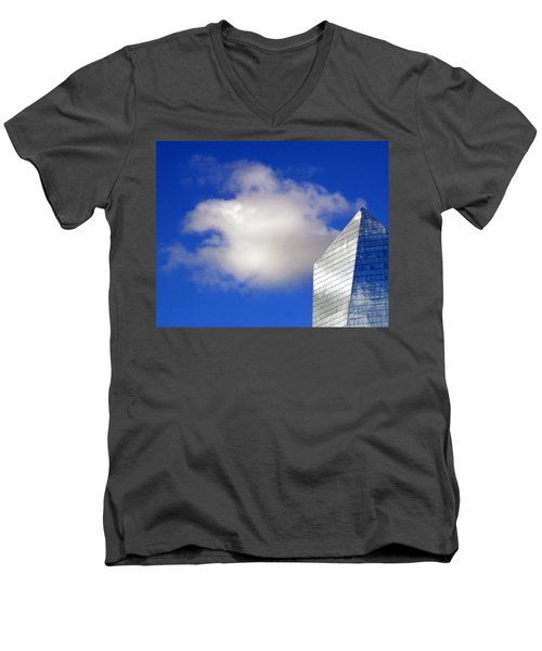 Cumulus And Cira Men's V-Neck T-Shirt by Lisa Phillips