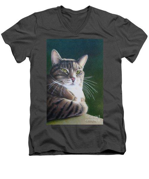 Royalty Men's V-Neck T-Shirt by Pamela Clements