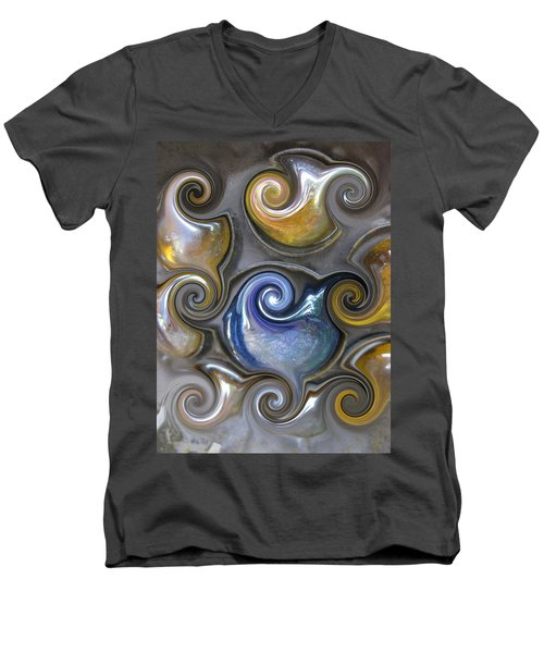 Curlicue II Men's V-Neck T-Shirt
