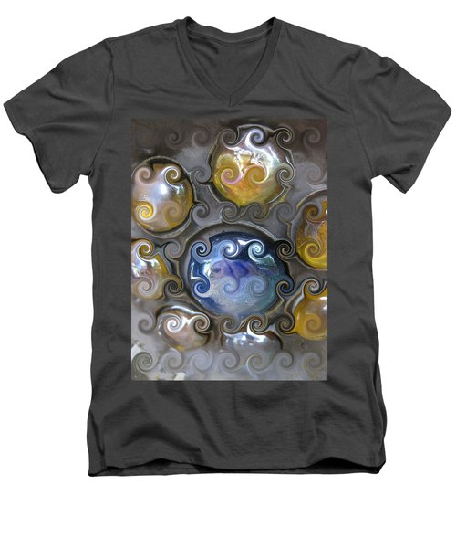 Curlicue IIi Men's V-Neck T-Shirt