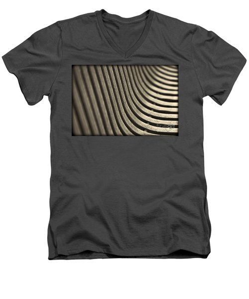 Men's V-Neck T-Shirt featuring the photograph Curves I. by Clare Bambers