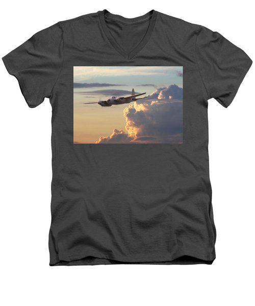 D  H Mosquito - Pathfinder Men's V-Neck T-Shirt