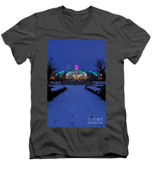 D5l287 Franklin Park Conservatory Photo Men's V-Neck T-Shirt