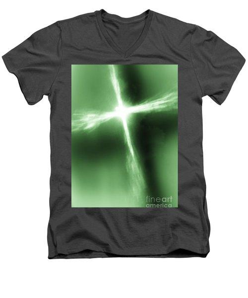 Daily Inspiration Ll Men's V-Neck T-Shirt by Robin Coaker