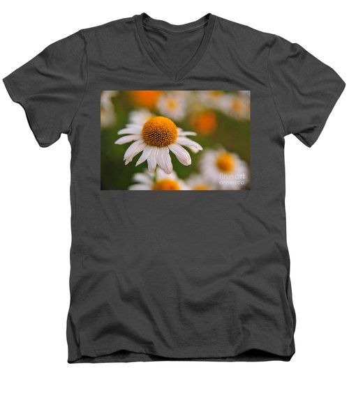 Daisy Power Men's V-Neck T-Shirt
