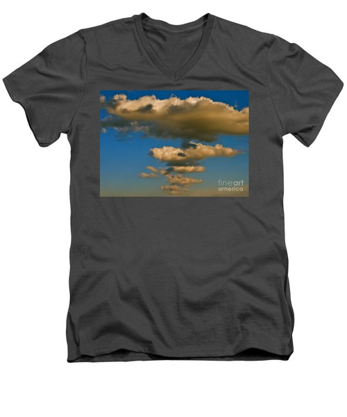 Men's V-Neck T-Shirt featuring the photograph Dali-like by Joy Hardee