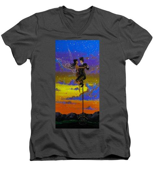 Dance Enchanted Men's V-Neck T-Shirt