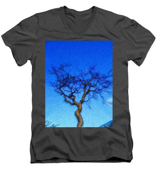 Dance Of The Dawn Men's V-Neck T-Shirt