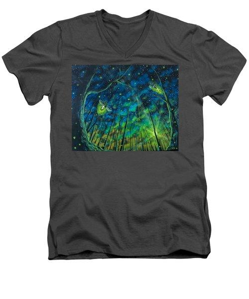 Dance The Night Away Men's V-Neck T-Shirt
