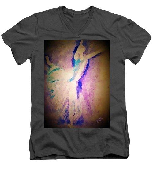 Dancing Donna Men's V-Neck T-Shirt