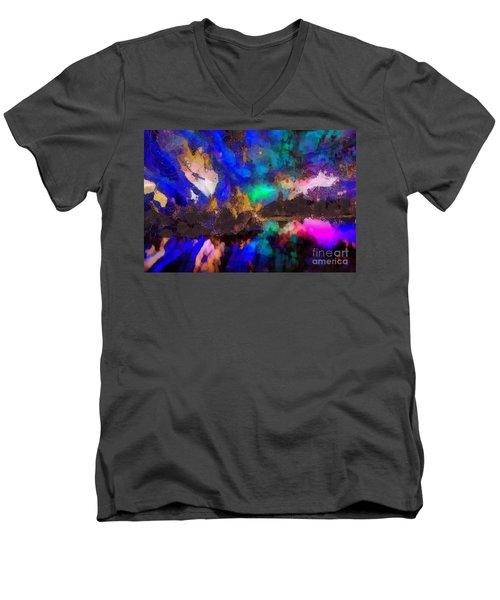 Dancing In The Moon Light Men's V-Neck T-Shirt