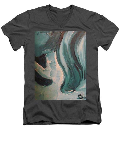 Dancing Men's V-Neck T-Shirt