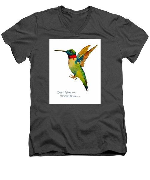 Da166 Hummer Dreams Daniel Adams Men's V-Neck T-Shirt