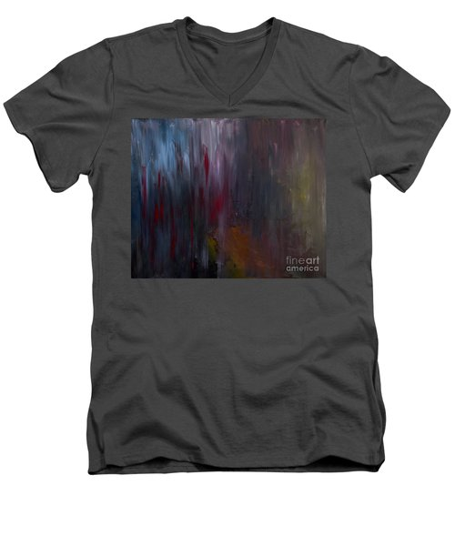 Dark Rain Men's V-Neck T-Shirt