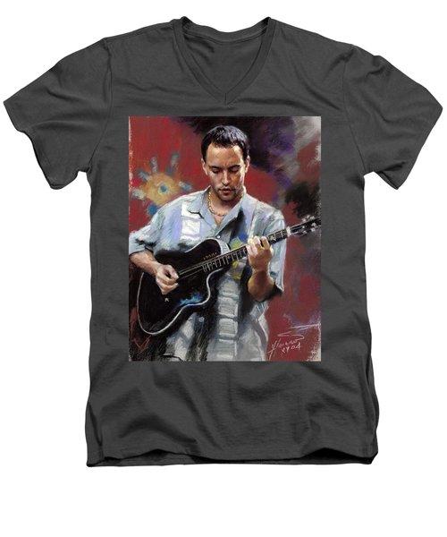 Dave Matthews Men's V-Neck T-Shirt