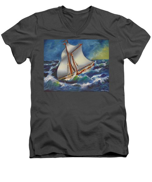 Daves' Ship Men's V-Neck T-Shirt