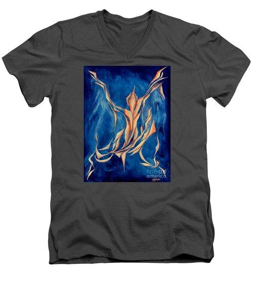 David's Angel Men's V-Neck T-Shirt