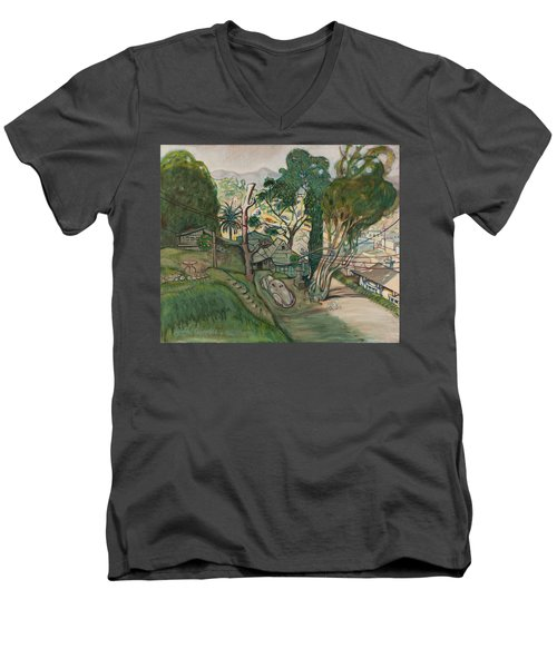 David's House Men's V-Neck T-Shirt