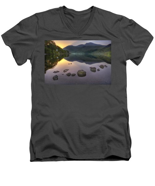 Dawn Of A New Day Men's V-Neck T-Shirt