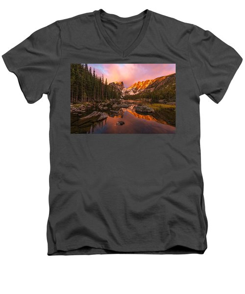 Dawn Of Dreams Men's V-Neck T-Shirt
