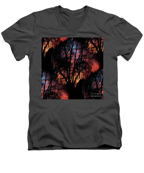 Sunrise - Dawn's Early Light Men's V-Neck T-Shirt