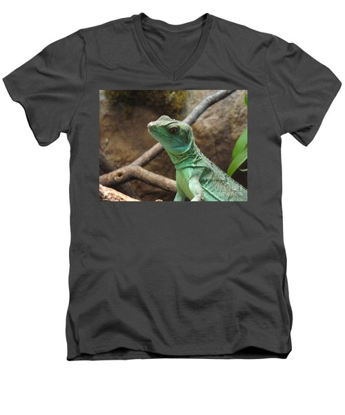 Men's V-Neck T-Shirt featuring the photograph Dazed And Confused by Lingfai Leung