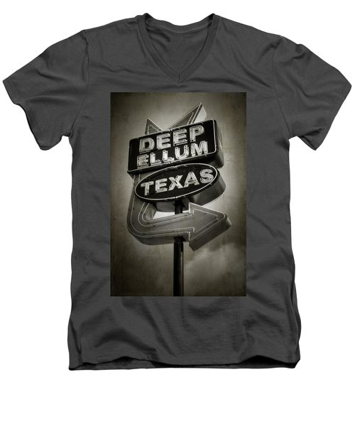 Deep Ellum Men's V-Neck T-Shirt