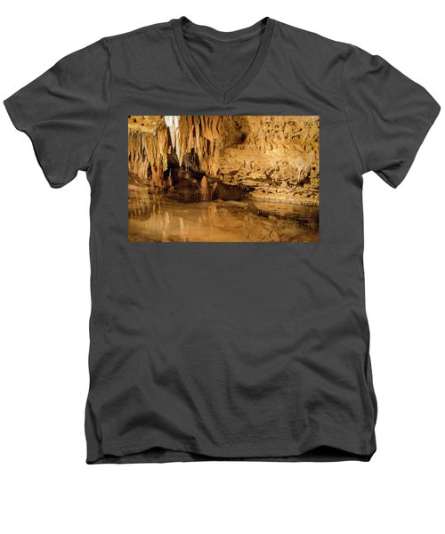 Deep In The Cave Men's V-Neck T-Shirt