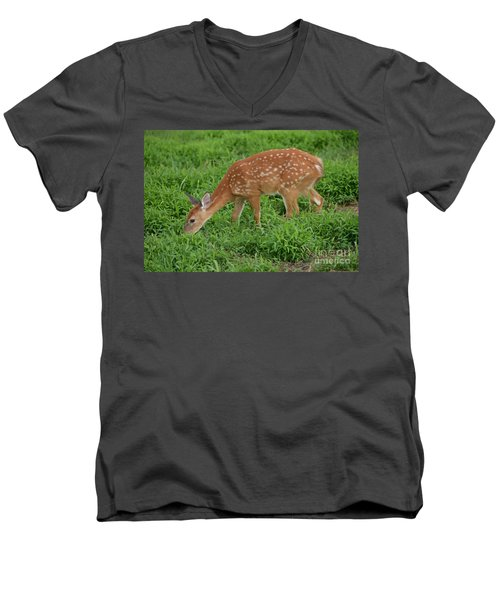Deer 46 Men's V-Neck T-Shirt