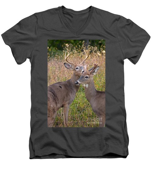 Deer 48 Men's V-Neck T-Shirt